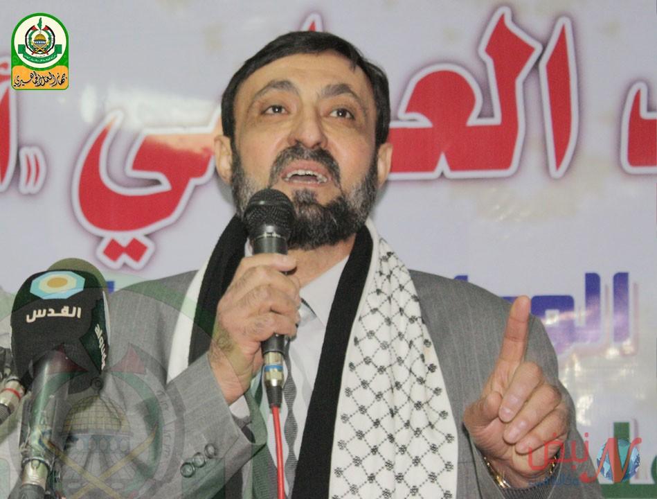 إصابة عضو المكتب السياسي لحركة حماس عماد العلمي بطلق في الرأس